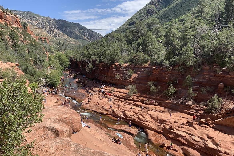 Slide Rock tourism